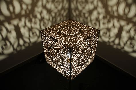 Laser Cut L Shade by Laser Cutting Wood Check Out This Lshade