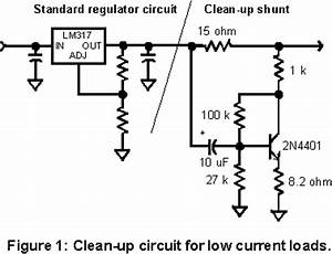 finesse voltage regulator noise With low power circuit