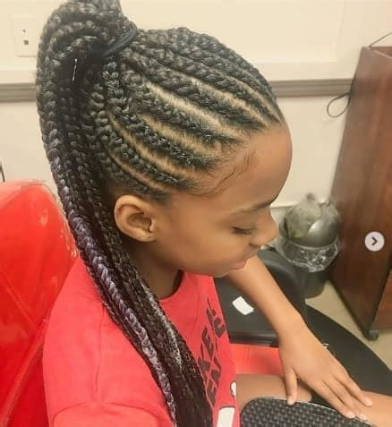 Kid Ponytail Hairstyles by 40 Braids For Black 2018 Mr Haircuts