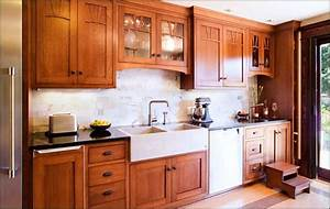 craftsman kitchen home design With best brand of paint for kitchen cabinets with frank lloyd wright wall art