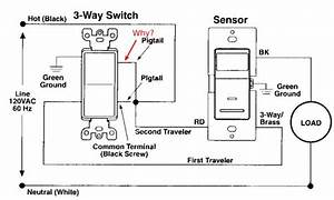3 way switch common connection doityourselfcom With wiring diagram switch on three way switch making the proper connection