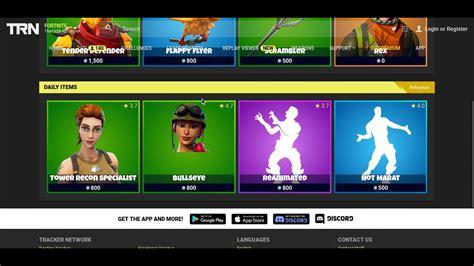 fortnite tracker nov  item shop youtube