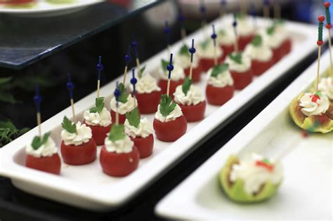 canapes for 8 finger foods and canapés littlerock