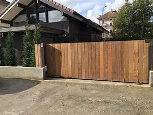 Portail En Bois : bois lugaz metallerie ~ Premium-room.com Idées de Décoration