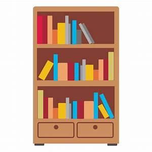 Wooden bookshelf icon - Transparent PNG & SVG vector