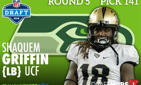 seahawks select shaquem griffin brother  shaquill