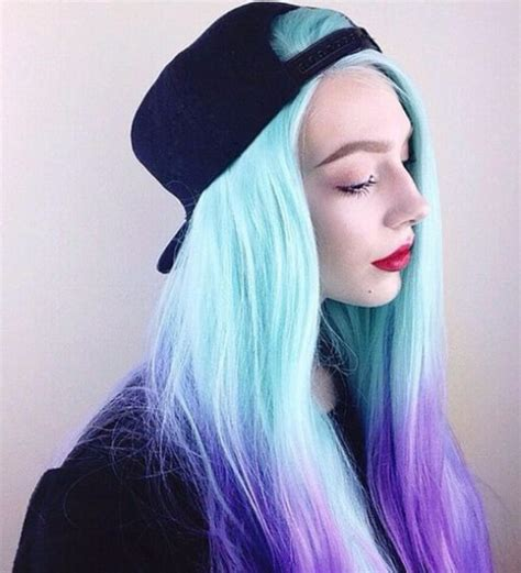 40 Blue Ombre Hair Ideas   My New Hairstyles