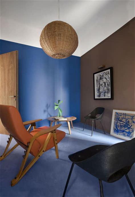 osez le bleu dans votre salon   de salons bleus