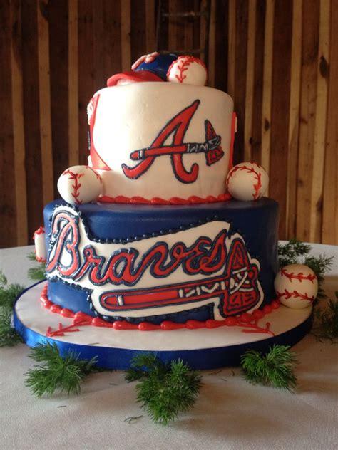 Birthday Cakes Atlanta Braves Cake By Me 259