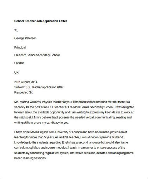 40 application letters format free premium templates