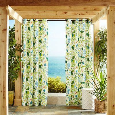 tropical window curtains 1000 ideas about tropical curtains on