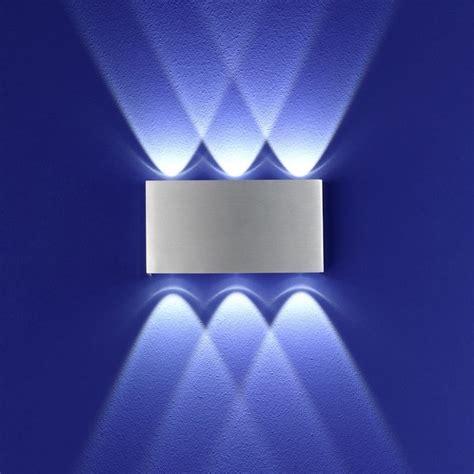 leuchten led wandleuchte stream aluminium wohnlicht