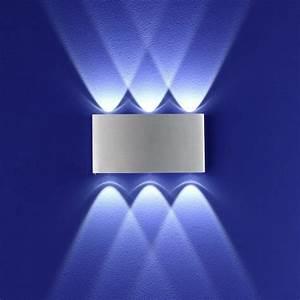 Led Wandleuchte Mit Bewegungsmelder : b leuchten led wandleuchte stream aluminium wohnlicht ~ Frokenaadalensverden.com Haus und Dekorationen
