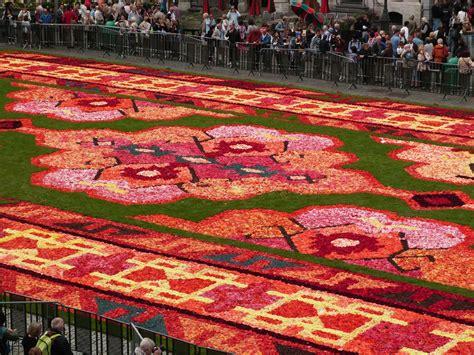 tapis de fleurs bruxelles 2014 balade 224 bruxelles tapis de fleurs 2014 mod 233 lisme trains