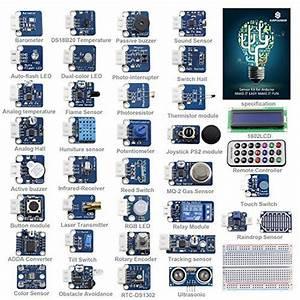 Sunfounder Ultimate Sensor Kit For Arduino
