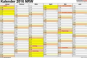 Schulferien 2016 Nrw : schulferien nrw 2016 kalender b rozubeh r ~ Yasmunasinghe.com Haus und Dekorationen