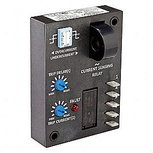 Dayton Adjustable Current Sensing Relay Vac Input