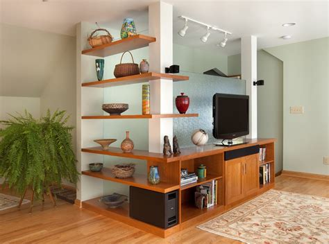 The showcase is also supported by the storage system and drawers. TV Showcase Design Ideas For Living Room Decor #15524 ...
