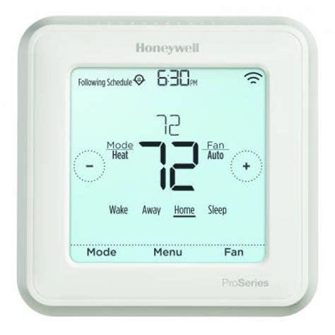 honeywell lyric t6 pro wi fi touchscreen programmable non programmable thermostat heat 3