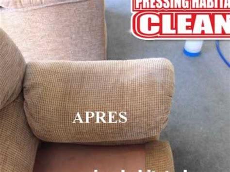 nettoyage canapé tissu à domicile nettoyage et rénovation de fauteuil canapé et chaise
