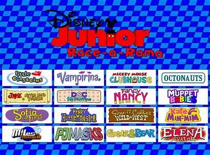 Disney Junior Rama Race Gamekirby Deviantart Crossovers
