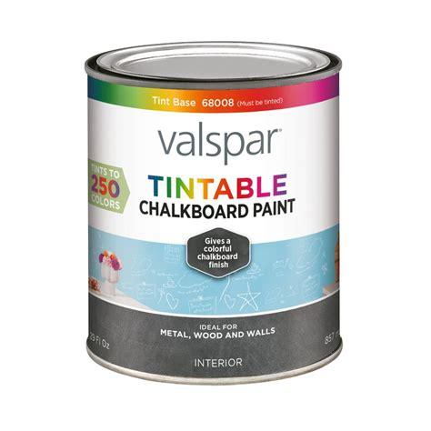 shop valspar valspar interior flat chalkboard tintable