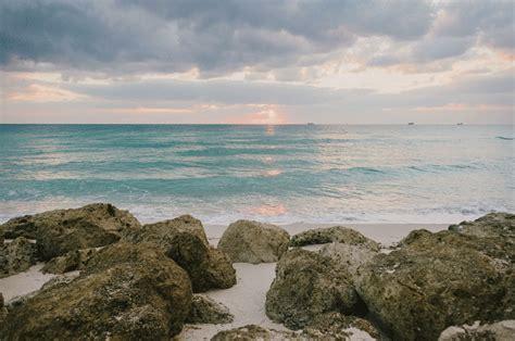 Tropical Rustic Beach Wedding The Palms Hotel Miami
