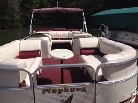 Playbuoy Pontoon Boat Seats by Playbuoy Challenger 2223 2003 For Sale For 9 500 Boats