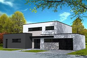 les 25 meilleures idees de la categorie maison cubique sur With maison bois toit plat 2 architecture loire atlantique construction de maison