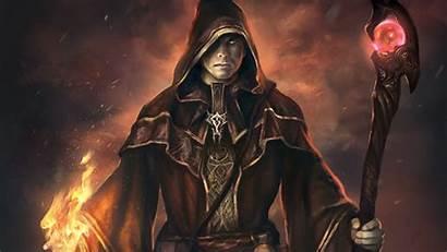 Dark Mage Sorcerer Magic Mages Battle Wallpapers