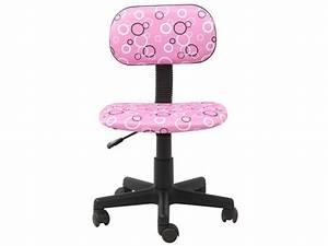 Fauteuil Enfant Fille : chaise bureau fille fauteuil bureau confortable lepolyglotte ~ Teatrodelosmanantiales.com Idées de Décoration