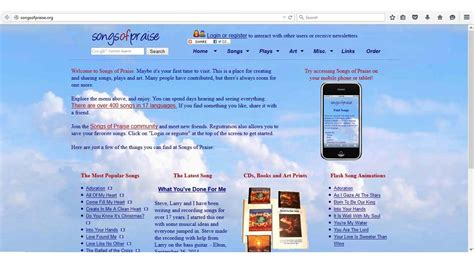 gospel music site