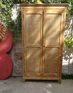 Armoire Parisienne Vintage : armoire d 39 cole en bois banaborose reinventeur de ~ Teatrodelosmanantiales.com Idées de Décoration