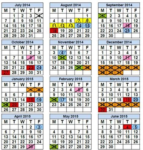 south florida school calendars easy