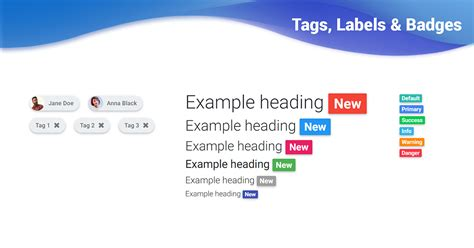 bootstrap labels  badges examples tutorial