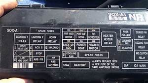 1999 Honda Odyssey 3 5l Main Fuse Box Location Under Hood