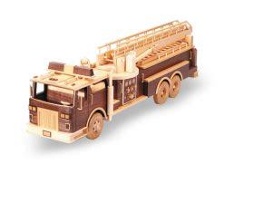 fire truck  woodworking plan