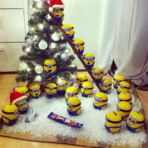 minion christmas decoration christmas lights card and decore