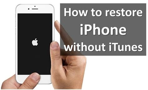 how to get on iphone without itunes how to restore iphone without itunes icloud and copytrans