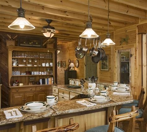 Rustic Log Cabin Kitchen Ideas by 195 Best Pine Interior Images On Logs Cabin