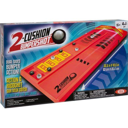 Ideal Two Cushion Bumpershot Tabletop Game Walmartcom