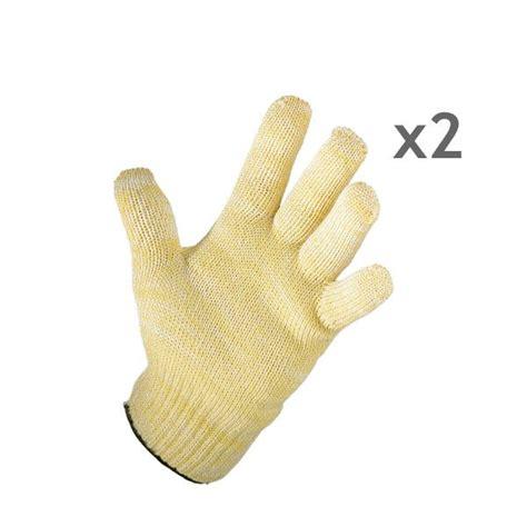 gants anti chaleur cuisine lot de 2 gants anti chaleur mathon tabliers torchons