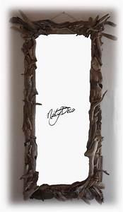 Miroir Bois Flotté : miroir en bois flotte ~ Teatrodelosmanantiales.com Idées de Décoration