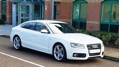 used white audi a5 for sale surrey