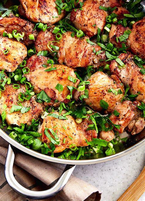 Boneless Chicken Thigh Recipes