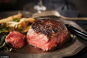 best way to eat steak why eating red meat can cause bowel cancer daily mail online