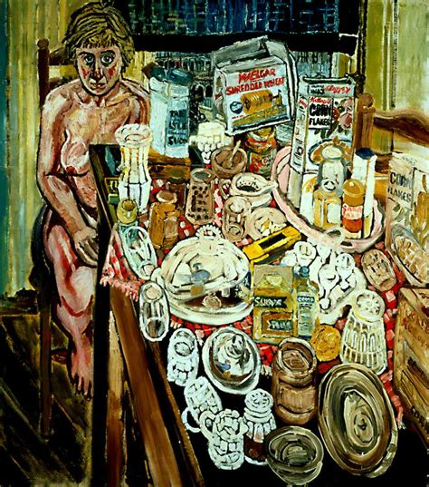 bratby kitchen sink jean and still in front of a window 1954 4904