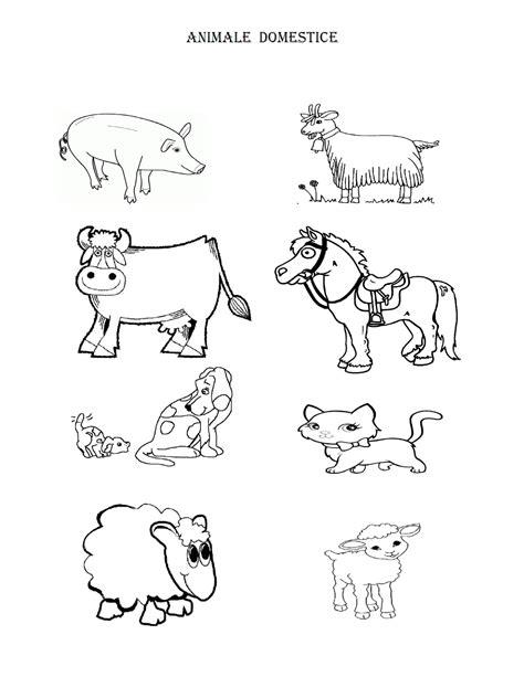Télécharger Fise De Colorat Cu Animale