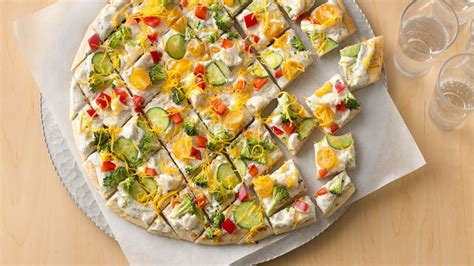 Festive Pizza Appetizers recipe from Betty Crocker