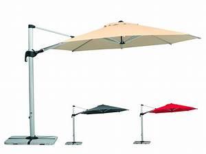 Sonnenschirm ampelschirm rechteckig fur balkon for Französischer balkon mit sonnenschirm drehbar neigbar kippbar